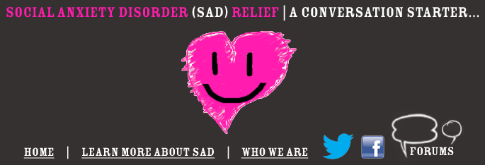 SOCIAL ANXIETY DISORDER (SAD) RELIEF | A Conversation starter...